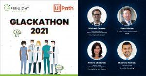 Hackathon Promotional Poster and Judges